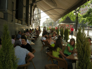 Madrid terrace restaurants